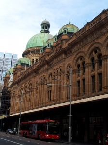 Queen Victoria Building (QVB), by G McRae (1893 - 1898) Is that a temple up there? Federation Romanesque style