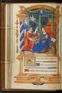 Matins – The Annunciation Horae B.M.V. : illuminated ms. on vellum Paris  ca.1490
