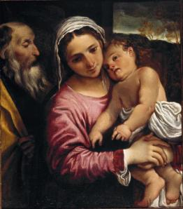Annibale Carracci The Holy Family  (c. 1589)