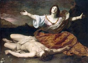 Nicolas Régnier Hero and Leander (c. 1625-1626) Image provided by NGV http://www.ngv.vic.gov.au/col/work/4289
