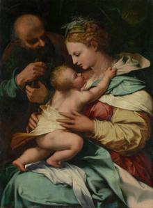 Perino del Vaga The Holy Family  (c. 1545-1546) Image provided by NGV