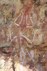 Rock art, Mount Borradaile