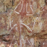 Rock art, Mount Borradaile