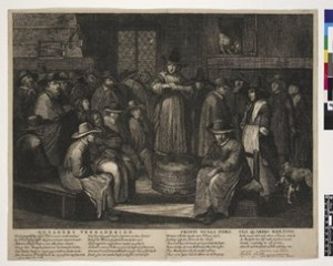The Quakers meeting