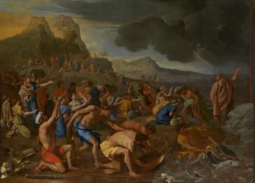 Nicholas Poussin The Crossing of the Red Sea