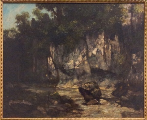 Landscape with stagGustave Courbet1873   oil on canvas   65.5 x 81.6 cmArt Gallery NSW