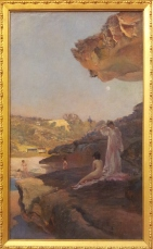 Tamarama beach, forty years ago, a summer morning Julian Ashton 1899