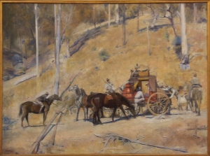 Bailed up Tom Roberts 1895 oil on canvas http://www.artgallery.nsw.gov.au/collection/works/833/