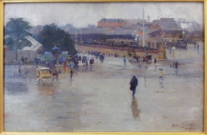 The railway station, Redfern Arthur Streeton http://www.artgallery.nsw.gov.au/collection/works/7209/