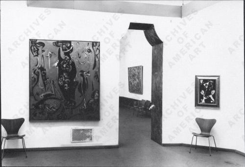 Exhibition, Kunstverein fur die Rheinlande und Westfalen 1961