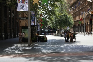 Martin Place looking from the west end (George St)