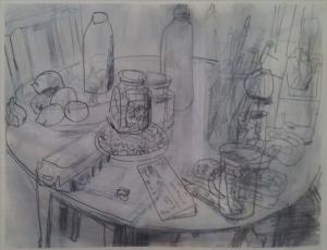 John Bokor Kitchen table