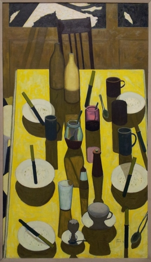 John Brack The Breakfast Table