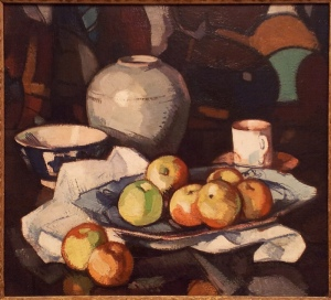 Samuel John Peploe Still life: apples and jar circa 1912-circa 1916