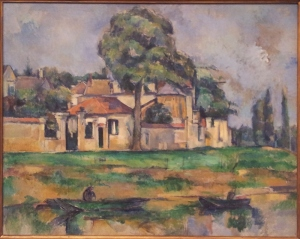 Paul Cezanne Banks of the Marne