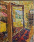 Grace Cossington Smith Interior with wardrobe mirror (1955)