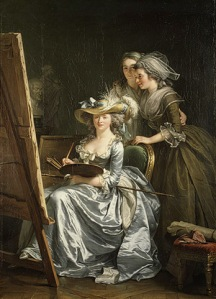 Adélaïde Labille-Guiard Self–Portrait with Two Pupils http://www.metmuseum.org/toah/works-of-art/53.225.5