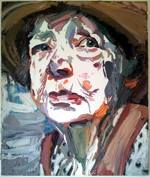 Ben Quilty Margaret Olley oil on linen 170 x 150cm