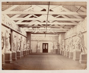 Charles Nettleton Gallery of casts from the studio of Brucciani, London 1869