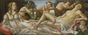 Sandro Botticelli Venus and Mars about 1485