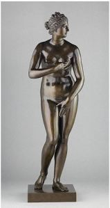 Pietro Cipriani  Venus de' Medici 1722 - 1724  Bronze