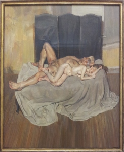 Lucian Freud And the bridegroom 1993