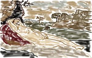 sketch_giorgione