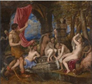 Titian Diana and Actaeon 1556-9
