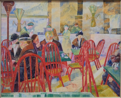 Grace Cossington Smith The Lacquer Room 1936 oil on paperboard on plywood