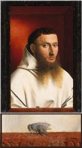 Petrus Christus Portrait of a Carthusian 1446   Oil on wood