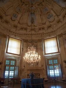 Masino Castle, Italy: the ballroom Licensed under Public domain via Wikimedia Commons