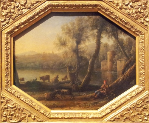 Claude Lorrain Pastoral Landscape 1636 – 1637 oil on copper 27.9 x 34.7 cm