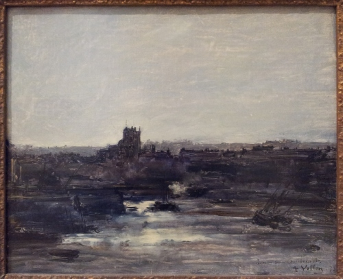Antoine Vollon Dieppe 1873   oil on canvas   32.8 x 40.3 cm