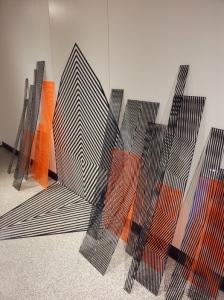 Nadia Odlum Perspex installation