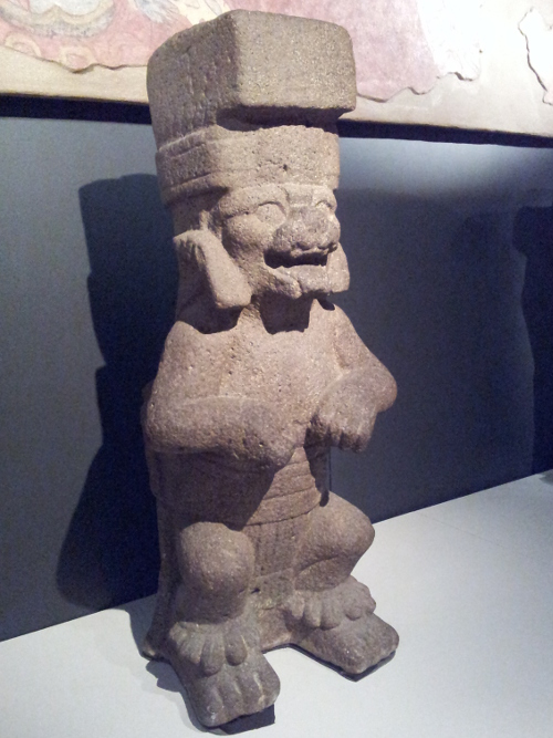 Jaguar sculpture Olmec, 1200 BCE - 200 CE Basalt