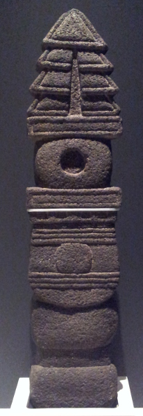 Xicahuaztli (sunbeam) sculpture Aztec, about 1500 Basalt-andesite