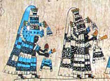 Codex Borbonicus folio28 (detail)