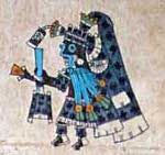 Codex Borbonicus folio 29 (detail)