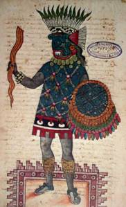 Codex Mendoza folio 110v (detail)