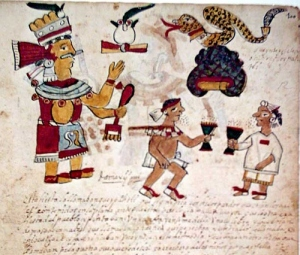 Codex Ixtlilxochitl (detail)