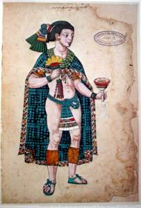 Codex Mendoza folio 108r