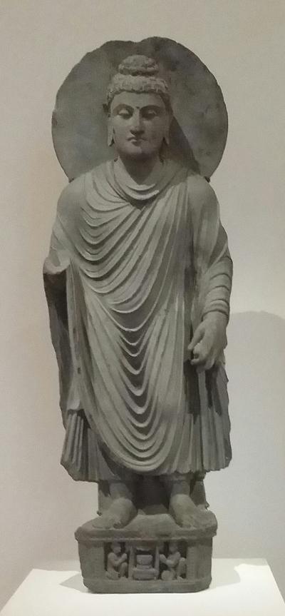 Standing Buddha  100s  CE
