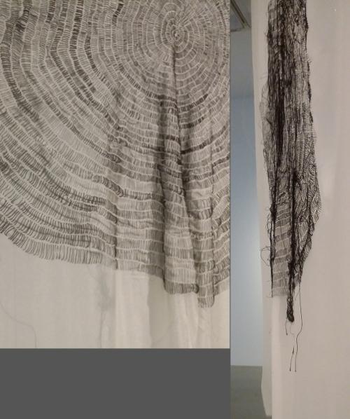 Gillian Lavery Pranayama (detail, reverse) 2014