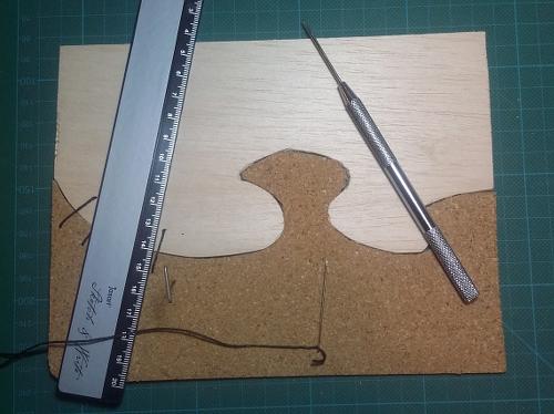Sample p2-15 Stitching in progress