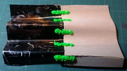Sample p2-5 Link - accordion folds