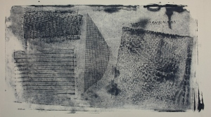 experimental collagraph at home