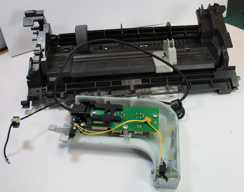 Sample p2-74 Printer components