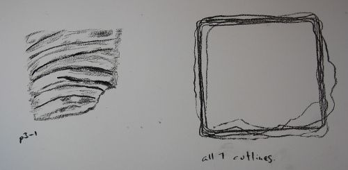 Sketch of initial molding - 3