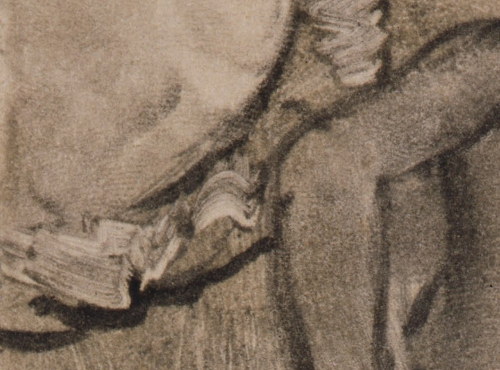 Edgar Degas Brother Scene (c.1879) (detail) Cantor Arts Center at Stanford University