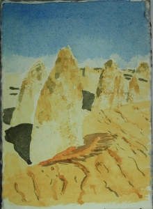 pinnacles sketch 1